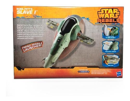 star wars nave slave 1 starfighter boba fett nuevo hasbro