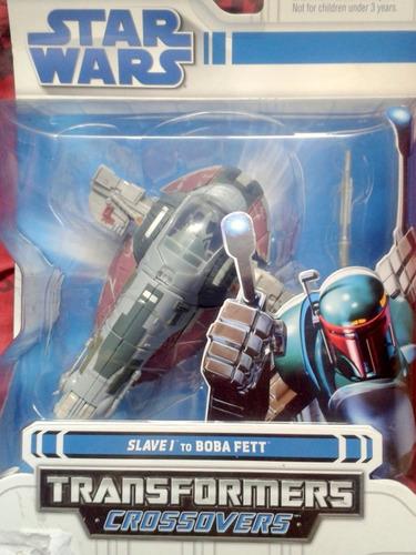 star wars nave transformers modelo slave 1 boba fett