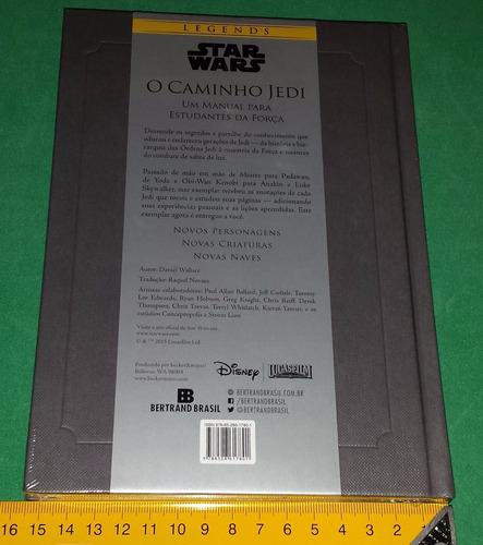 star wars - o caminho jedi livro lacrado guerra estrelas