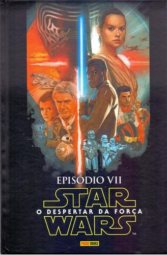 star wars - o despertar da força - episódio vii - capa dura