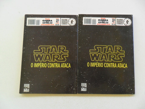 star wars o império contra ataca nºs 3 e 4! jbc 2002!