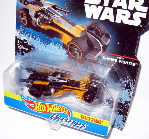 star wars poe´s x wing fighter - 1/64 hot wheels