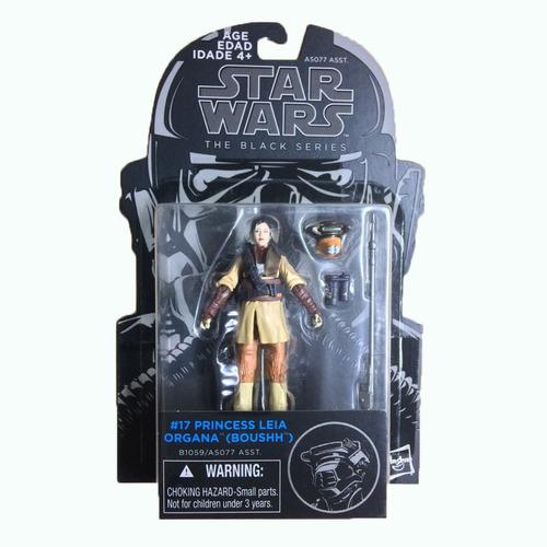 star wars princesa leia organa (boushh) black series figura