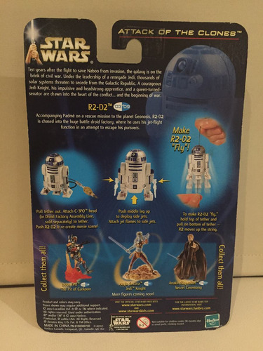 star wars r2-d2 droid factory flight attack of the clones