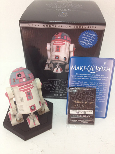 star wars r2-kt sdcc 2014 gentle giant maquette