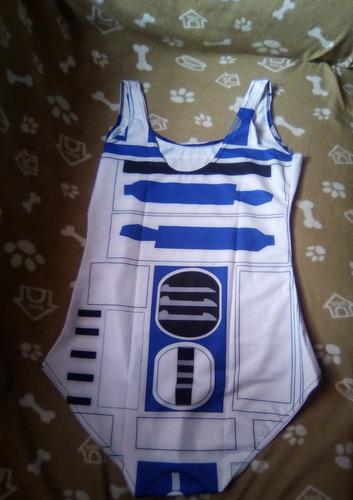 star wars - r2d2 arturito traje de baño