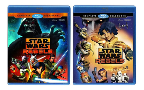 star wars rebels paquete temporada 1 2 3 4 blu-ray