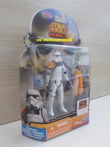 star wars rebels strormtrooper e hera syndulla - hasbro.