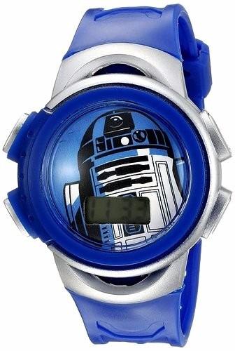star wars reloj lcd r2-d2 y alcancía colección liquidación