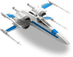 star wars revell x wing episodio 7, maqueta nuevo y sellado