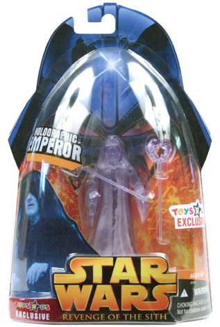 star wars revenge of the sith emperor holographic