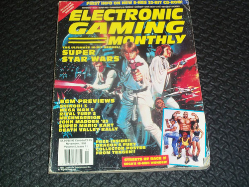 star wars   revista electronic gaming monthly    fabrome