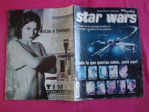 star wars revista especial de coleccion tv y novelas