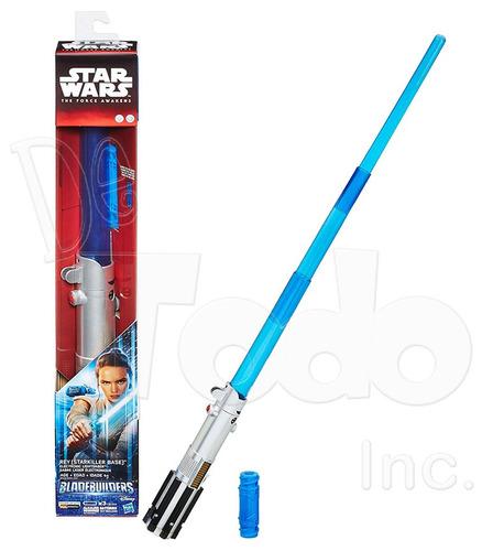 star wars rey lightsaber sable laser electronico