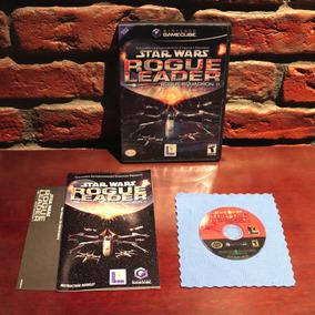 Star Wars Rogue Leader Squadron Ii 2 Black Label Original Americano Gamecube