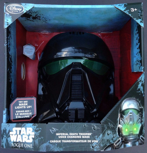 star wars rogue one imperial trooper mascara electronica