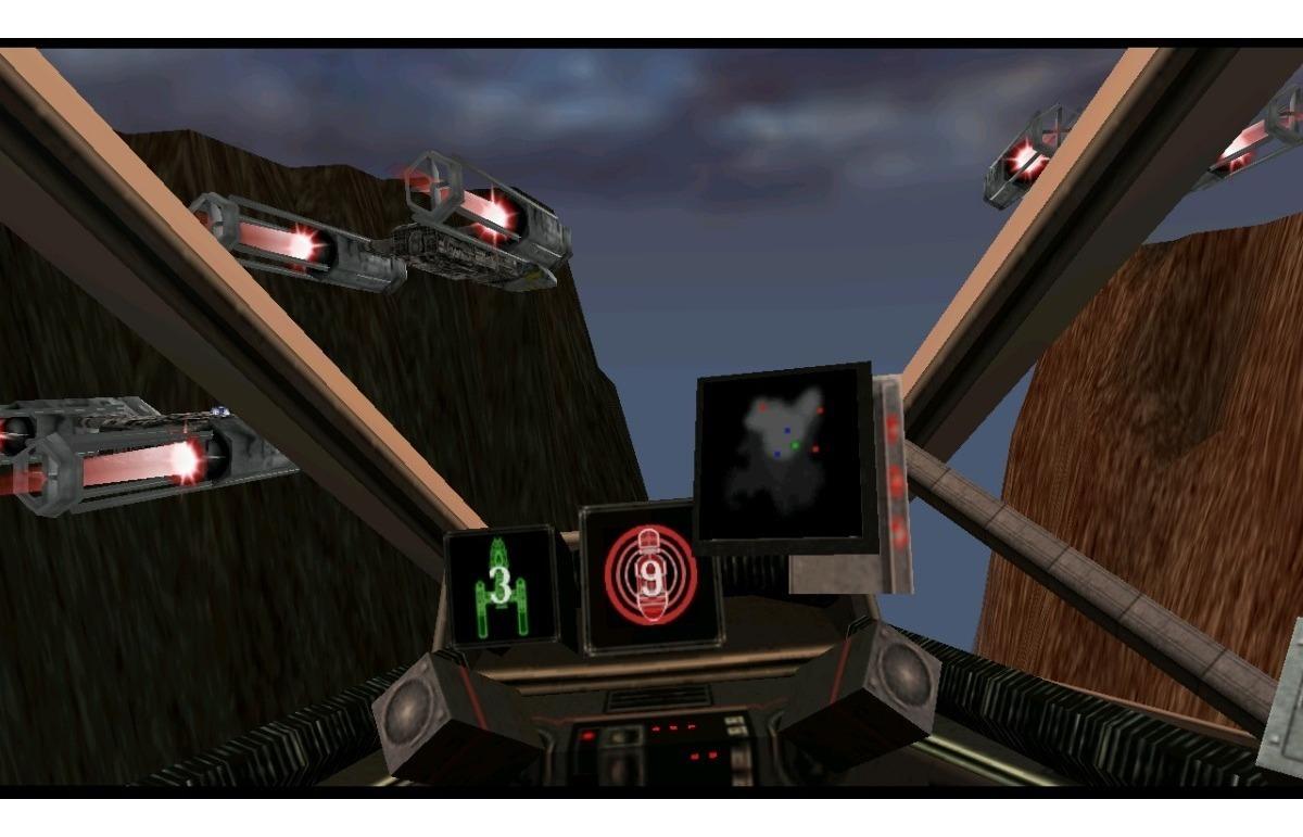 Star Wars Rogue Squadron 3d Pc Original Envio Grátis Sg