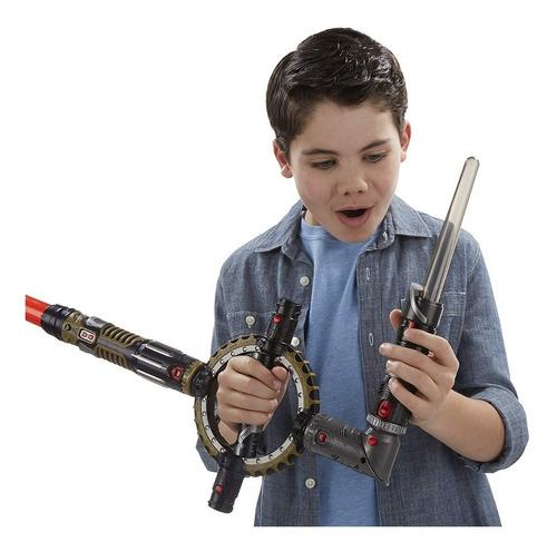star wars sable espada lightsaber giratorio con luz hasbro