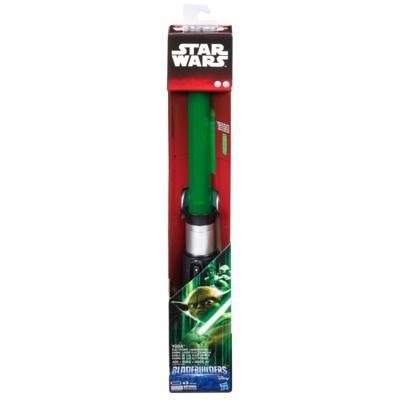 star wars - sabre de luz eletrônico - yoda ep.vii b7254