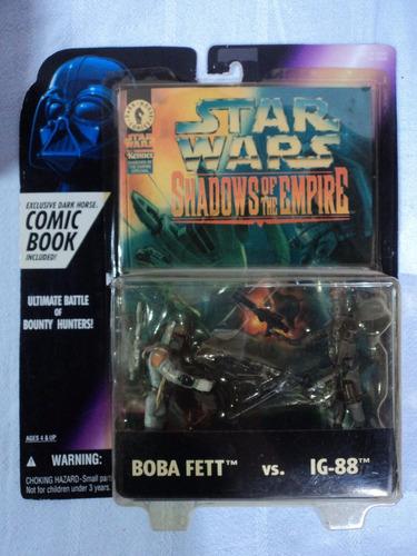 star wars shadows of the empire boba fett vs ig-88