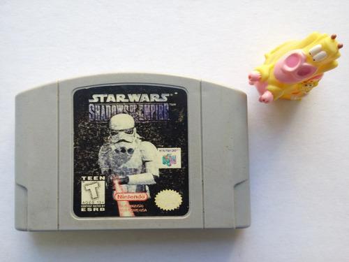 star wars shadows of the empire nintendo n64 garantizado