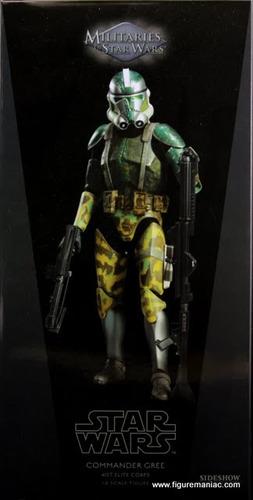 star wars sideshow comandante gree 41st elite corp batallon