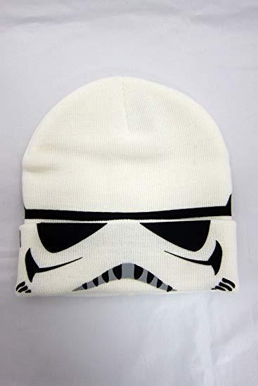 cbbe557f37138 Star Wars Storm Trooper - Gorro De Punto Con Puño Abatible ...