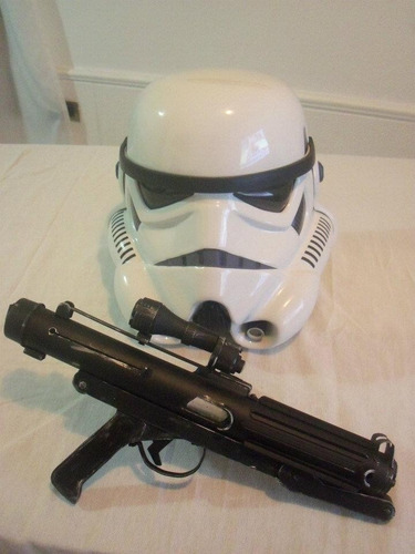 star wars stormtrooper blaster e-11 replica esc. 1:1 cosplay