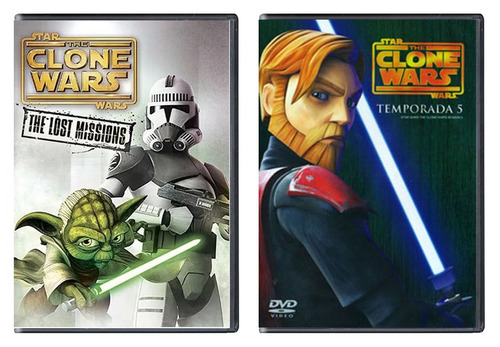 star wars the clone wars paquete serie completa 1 - 6 dvd