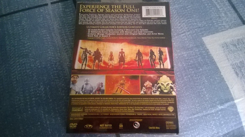 star wars the clone wars season 1 dvd 4 discos sellado