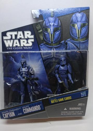 star wars the clone wars senate commando & captain