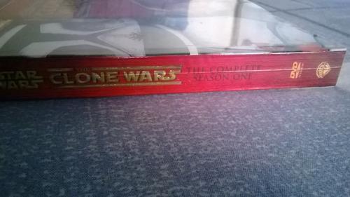 star wars the clone wars temp 1 - 4 dvd sellado