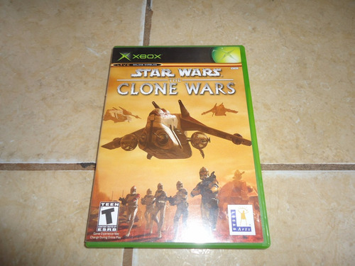 star wars the clone wars xbox + copleto +++
