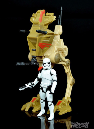 star wars the force awakens assault walker + stormtrooper