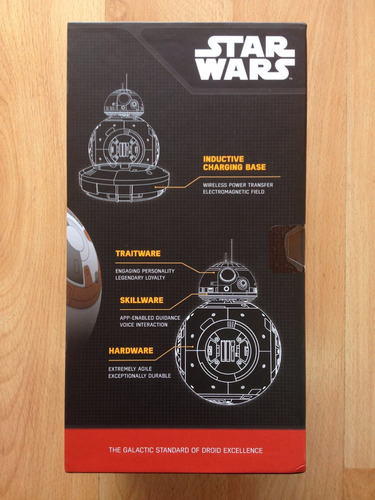 star wars the force awakens bb8 sphero droid envío gratis
