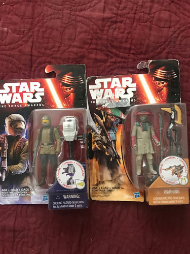 star wars the force awakens constable suvio y resistance 2x1