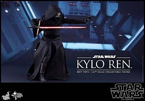star wars: the force awakens kylo ren escala 1/6 de la figur