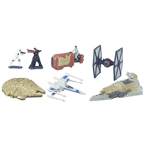 star wars: the force awakens micro machines deluxe paquete