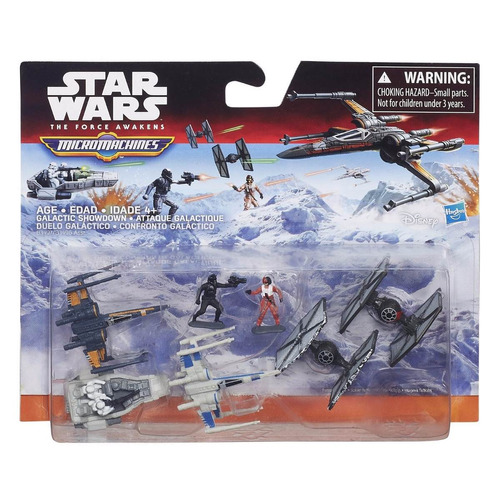 star wars the force awakens micro machines deluxe vehicles