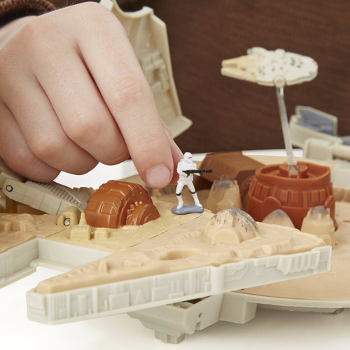star wars the force awakens micro machines millennium falcon