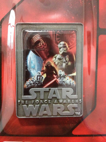 star wars the force awakens pin exclusivo forcefriday disney