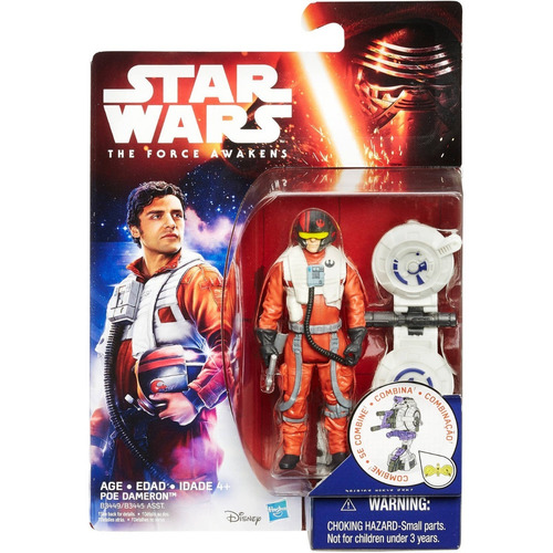 star wars the force awakens poe dameron 3'75