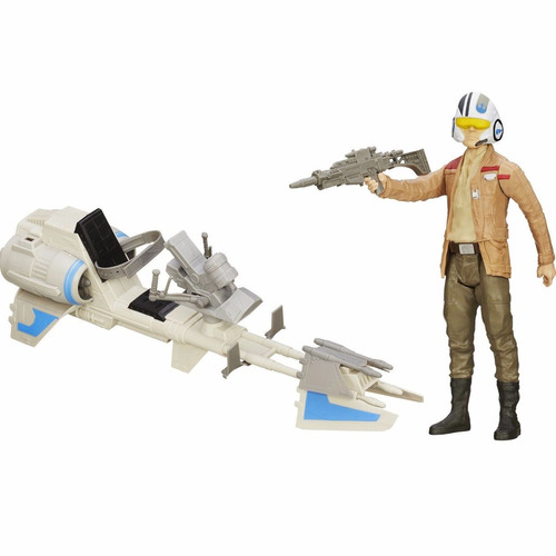 star wars the force awakens poe dameron speeder bike