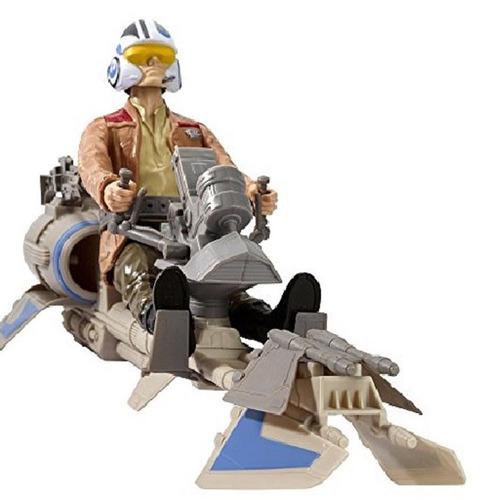 star wars the force awakens poe dameron speeder bike