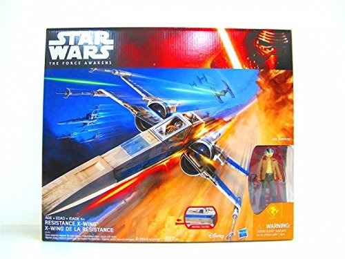 star wars: the force awakens, resistencia exclusiva x-wing