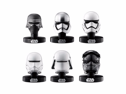 star wars the force awakens set cascos mini coleccionables