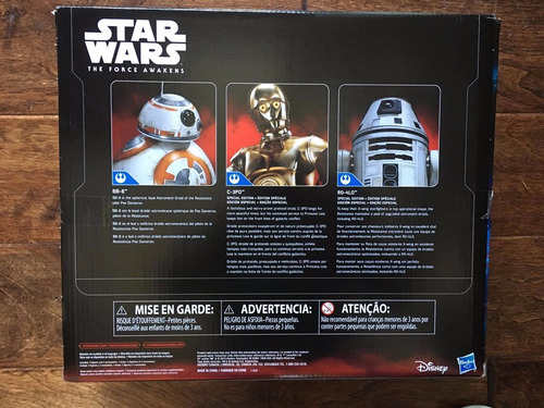 star wars the force awkens 3-pack droid