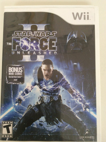 star wars the force unleashed 2 - nintendo wii