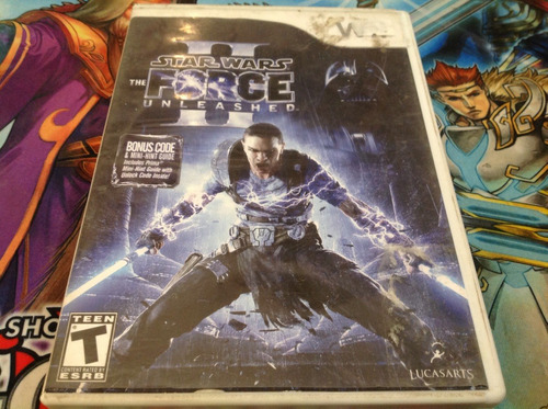 star wars the force unleashed ii.  wii