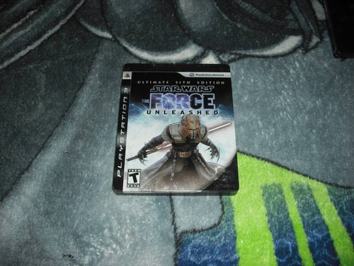 star wars the force unleashed steelbook ps3